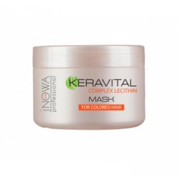 Маска для окрашенных  волос  jNOWA Professional KERAVITAL, 250 мл | Venko
