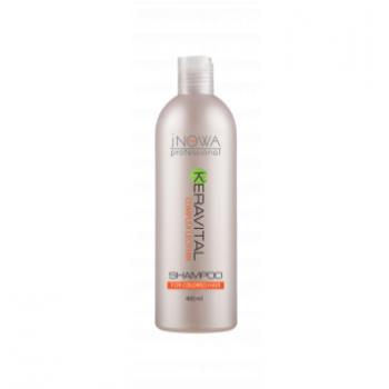 Шампунь для окрашенных  волос  jNOWA Professional KERAVITAL, 400 мл | Venko