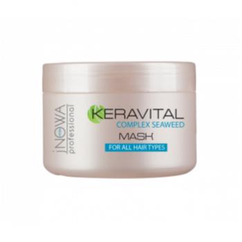 Маска для всех типов волос jNOWA Professional KERAVITAL, 250 мл | Venko