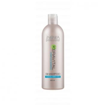 Шампунь для всех типов волос jNOWA Professional KERAVITAL, 400 мл | Venko