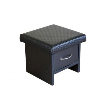 Пуфик для мастерапедикюра с ящиками | Venko