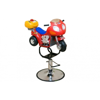 Детское кресло-мотоцикл на гидравлике, красный zd-2109 | Venko