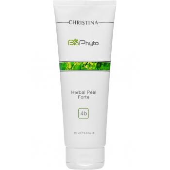 Растительный пилинг усиленного действия Christina - Herbal Peel Forte Bio Phyto, шаг 4b, 250 мл | Venko