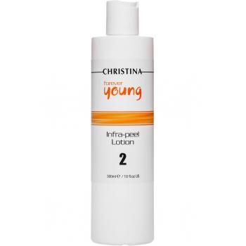Лосьон для подготовки кожи к пилингу, 8% AHA, pH 4,0  Christina - Infra Peel Lotion Forever Young, шаг 2, 300 мл | Venko