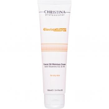 Увлажняющий крем с морковным маслом Christina - Elastin Collagen Carrot Oil Moisture Cream, 100 мл | Venko