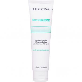 Увлажняющий крем - Elastin Collagen Placental Enzyme Cream, 100 мл