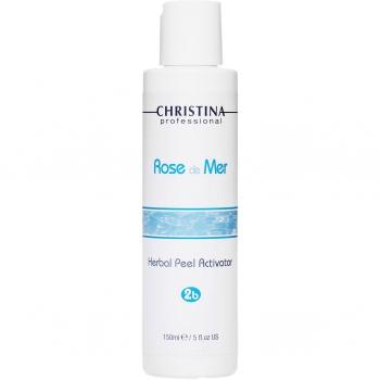 Активатор для натурального пилинга Christina - Herbal Peel Activator Rose de Mer, шаг 2b, 120 мл | Venko