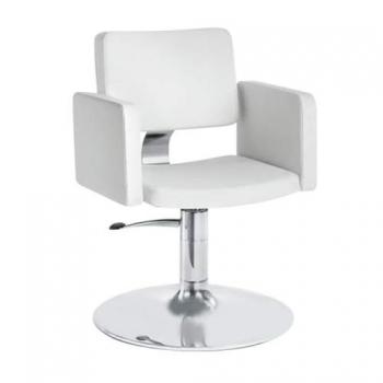 Кресло парикмахерское Olimp на гидравлике хром | Venko