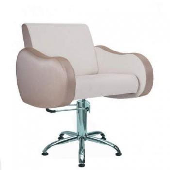 Кресло парикмахерское Wendy на гидравлике хром