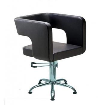 Кресло парикмахерское Masina на гидравлике хром | Venko