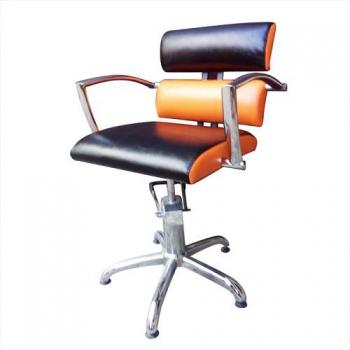 Кресло парикмахерское Tiffany на гидравлике хром | Venko