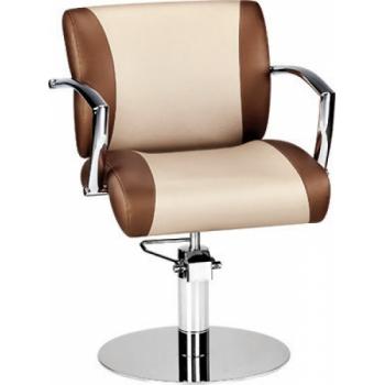 Кресло парикмахерское Eve на гидравлике хром | Venko