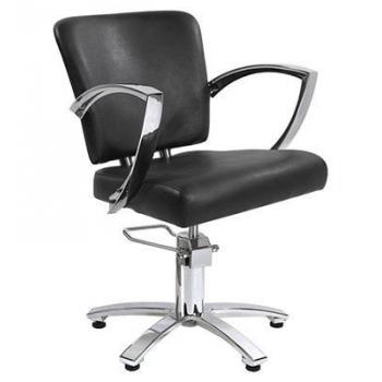 Кресло парикмахерское Атлант на пневматике хром | Venko