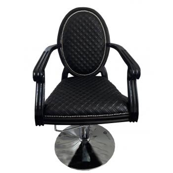 Кресло парикмахерское Mozart на гидравлике хром | Venko