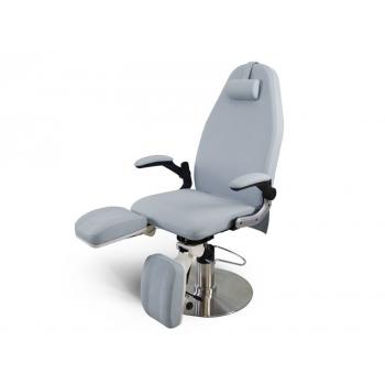 Педикюрное кресло модель 3713 с гидравлической регулировкой высоты, серое   Venko