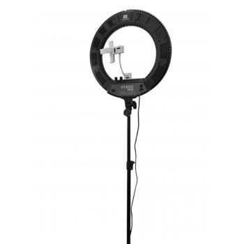 Кольцевая LED лампа V48C черная | Venko
