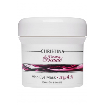 Маска для кожи вокруг глаз Christina - Vino Eye Mask Chateau de Beaute Vino, шаг 4a, 150 мл | Venko