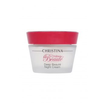 Крем ночной - Chateau de Beaute Deep Beaute Night Cream, 50 мл | Venko
