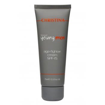 Крем против старения - Forever Young Men Age-Fighting Cream, 75 мл | Venko