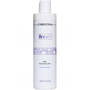 Мыло-гель для всех типов кожи - Fresh Milk Cleansing Gel, 300 мл | Venko