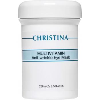 Мультивитаминная маска для зоны вокруг глаз Christina - Multivitamin Anti-wrinkle eye mask, 250мл | Venko