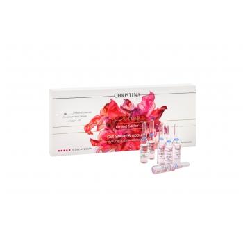 Ампулы для восстановления защитного барьера кожи  Christina - Cell Shield amploules kit Muse, 10 ампул | Venko