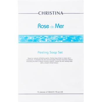 Мыльный пилинг Christina - Peeling Solution Rose de Mer, 15 шт | Venko