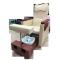Педикюрное кресло с вибромассажной ванночкой для ног SPA-120 white (белое)   Venko - Фото 52584